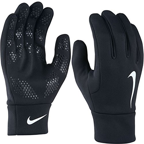 Nike Herren Hyperwarm Fieldplayer Gloves Spielerhandschuhe, Black/White, S
