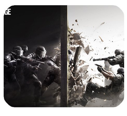 Preisvergleich Produktbild Tom Clancy S Rainbow Six Siege Mousepad Personalized Custom Mouse Pad Oblong Shaped In 9.84X7.87 Gaming Mouse Pad/Mat by HALILUYA