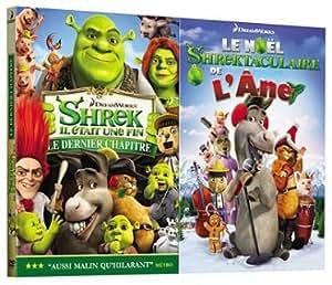 """Shrek 4 : il était une fin - inclus le court métrage """"Le Noël Shrektaculaire de l'âne"""" - Edition collector 2 DVD"""