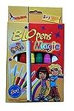 MALINOS Blopens Magic Pustestifte 6 Stifte 8 Schablonen Plus Extrazauberstift Bild