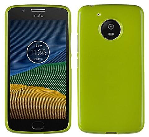 yayago Motorola Moto G5 TPU Schutzhülle für Motorola Moto G5 Hülle Moto G5 Grün