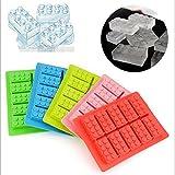 PackNBUY Set of 2 Lego Bricks Silicon Je...