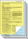 Sigel KV440/25 Kaufvertrag für gebrauchtes KFZ (ADAC), DIN A4, 25 Stück