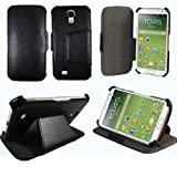 Etui luxe Samsung Galaxy S4 i9500 Ultra Slim Cuir Style avec stand - Housse coque de...