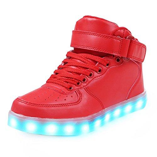 Sohle Leuchtschuhe Sportschuhe Blinkende Sneaker Schuhe Led Mit MVpqzSUG