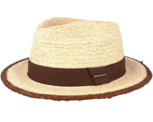 Sombrero Merriam Rafia by Stetson sombrero de hombresombrero de verano  (M 56-57 a1f6298e7f8
