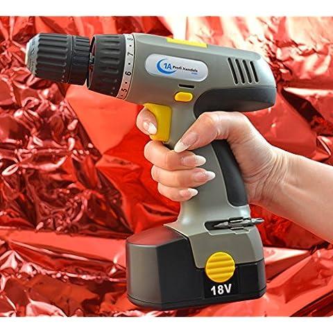 Perforadora, destornillador, taladro (1 pieza,  18 V, NiCd, 800mAh)