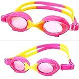 LCLrute 2018 Mode Kinder Schwimmbrille Masken Kinder Schwimmbrille Goggle Adjustable Swim Glasses (A)