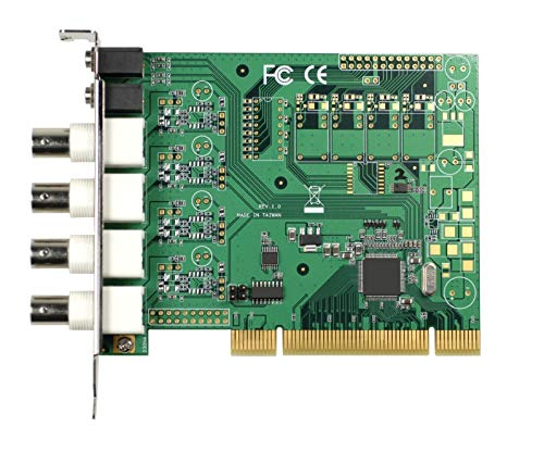 (DMC Taiwan) 4-ch H.264/MPEG-4 PCI Video Capture Card with SDK Mpeg4-video-capture