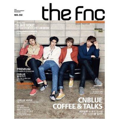 [KOREAN MAGAZINE] the FNC magazine vol 2 : CNBlue Version [Limited Edition + Making DVD][003kr] (Dvd Cnblue)