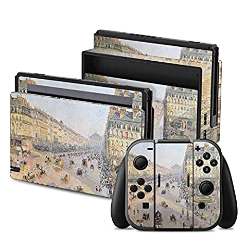 Nintendo Switch Folie Skin Sticker aus Vinyl-Folie Aufkleber Camille Pissarro The Avenue de L