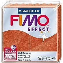 Staedtler 8020-27 - Fimo Effect Normalblock, 57 g, kupfer metallic