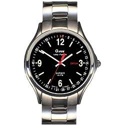 Garde' Uhren aus Ruhla Funkuhr mit Saphirglas Herrenuhr 93-26M Datum