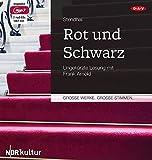 Rot und Schwarz: Ungekürzte Lesung mit Frank Arnold (2 mp3-CDs) - Stendhal