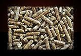 ▶ Buchenholz Holzpellets zum Grillen, Räuchern Smoken, *0,34€/kg*, 960kg auf Palette, kostenfreie Lieferung, handlich verpackt in 64 Pakete à 15kg, Holz-Pellets, Buchen-Pellets