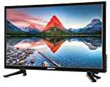 MEDION LIFE P12310 MD 21443 54,6 cm (21,5 Zoll Full HD) Fernseher (LCD-TV mit LED-Backlight, Triple Tuner, DVB-T2, HDMI, CI+, USB, Mediaplayer, integrierter DVD-Player) schwarz