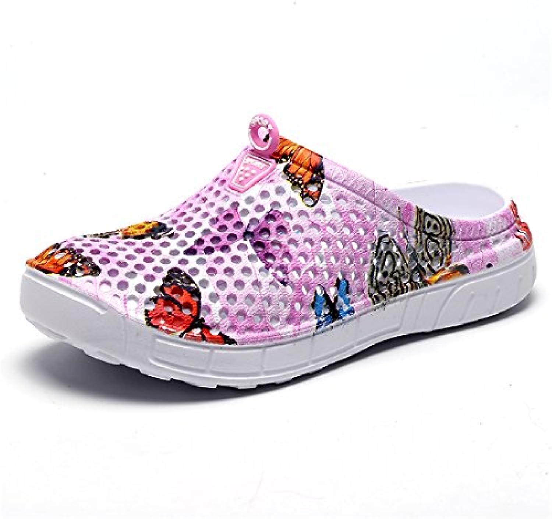 Garten Clog Schuhe Leichte und Bequeme Mesh Casual Hausschuhe für Frauen Größe 36-41 EU