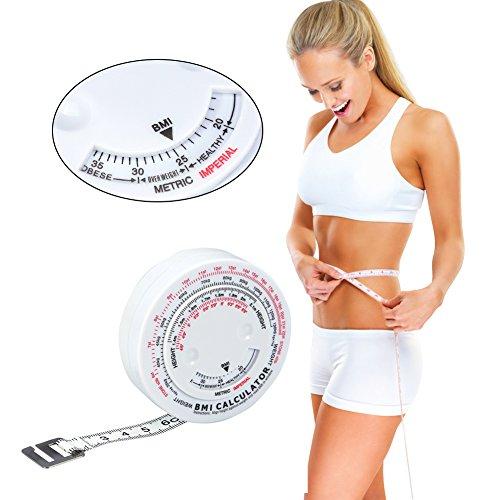 Maßband, Körperfett Tape Maßnahmen Bremssattel Set Tester Body Einziehbar körper maßband Mass Index Rund Fat Tuch Herrsche für Körper Nähen Schneider Zufällige -