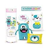 kullaloo KINDERLEICHT - Nähkurs für Anfänger Little Friends inkl. Material und Übungen in schicker Dose