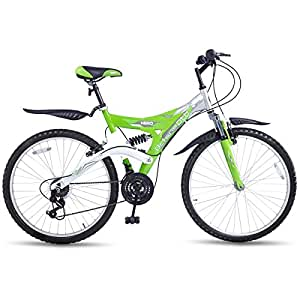 Hero Octane 26T DTB Alloy 21 Speed Adult Cycle, Green