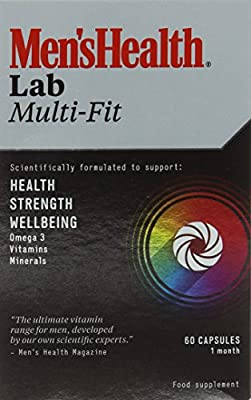 Men's Health Lab Vitamins Multi-Fit Capsules - Pack of 60 from Omega Pharma