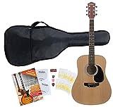Classic Cantabile WS-3 Guitare Folk / Western Starter SET