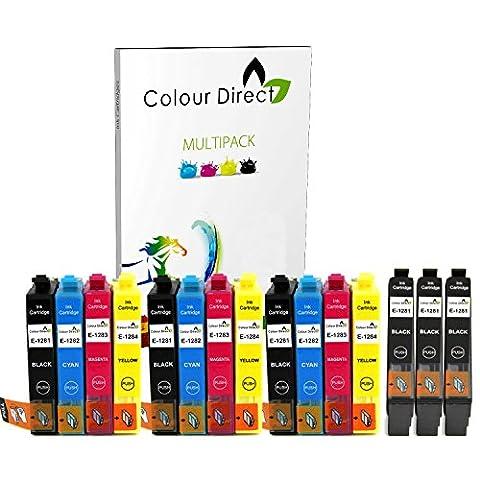 Epson Stylus Sx430w - 15 XL Colour Direct Haute Capacité Cartouches