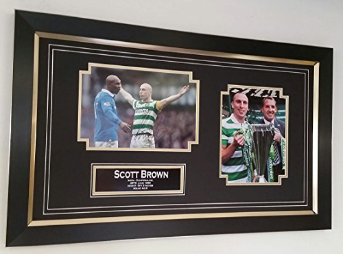 www.strikeautographs.co.uk Rare Scott Braun Signed Foto Display * AFTAL Fachhändler *