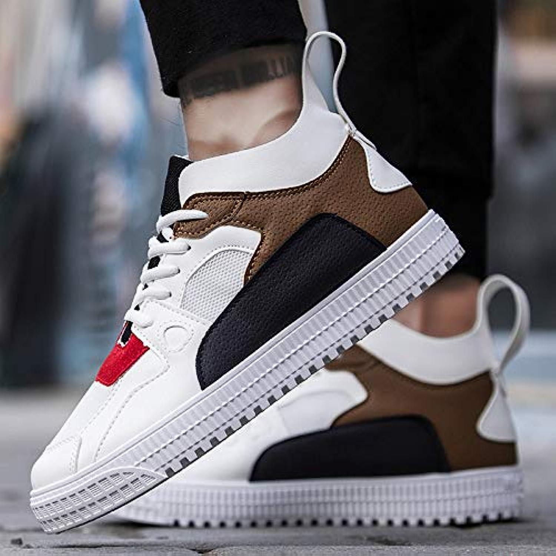 NANXIEHO Trend Student scarpe da ginnastica Autumn And Winter Small bianca scarpe Breathable Leisure Sport scarpe uomo scarpe | Per Vincere Una Ammirazione Alto  | Maschio/Ragazze Scarpa