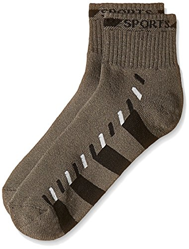 Lakomfort Men's Socks (LK-11035_Grey and Black)  available at amazon for Rs.76