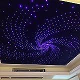 Kit Faser Optische 163teilig 5W RGB Farblampe Sternenhimmel