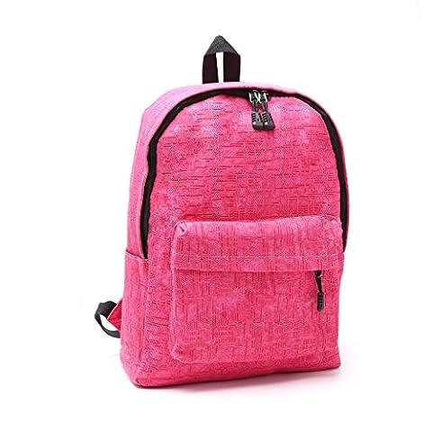 hndhui Teenager Leinwand ¨ ¤ Rucksack ¨ ¦ Student Bookbag ¨ ¦ Cole Tasche Casual Schnittstelle USB (Leinwand Porte)