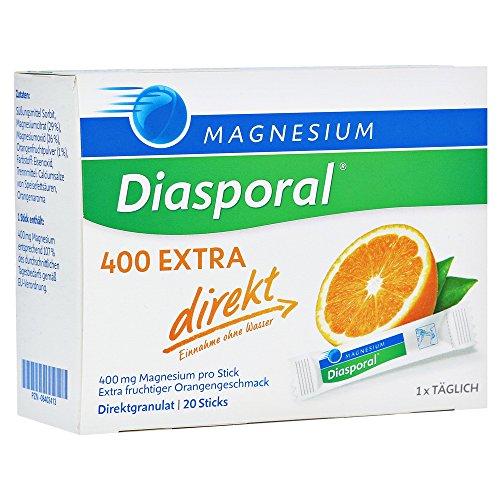 Magnesium Diasporal 400 Extra Direkt, 20 St
