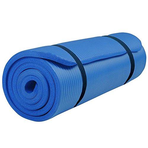 #ScSPORTS Gymnastikmatte 190 x 80 x 1.5 cm dunkelblau, 10000571#