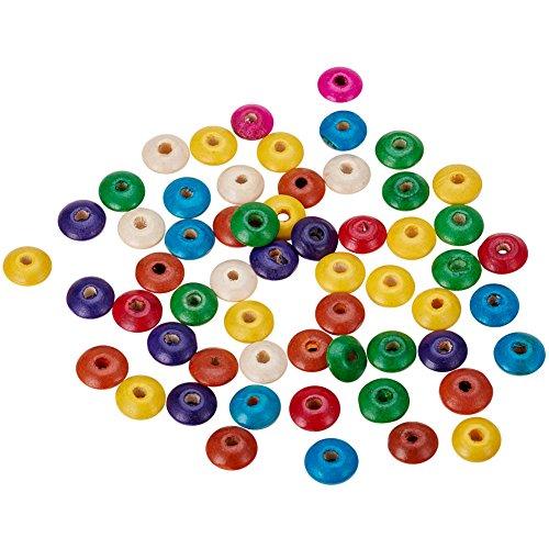 pandahall-100-stuck-gemischt-bleifrei-abakus-holzperlen-gefarbt-14-mm-durchmesser-5-mm-dick-loch-3-m