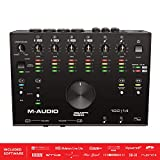 M-Audio AIR 192|14 - Interface audio/MIDI USB/USB-C 8 entrées/4 sorties avec logiciels: ProTools|First, Ableton Live Lite, Eleven Lite et Avid Effects Collection, plus FX and VIs de AIR Music Tech