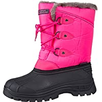 Mountain Warehouse Whistler Kids Snow Boots - Snowproof, Warm, Breathable Childrens Winter Boots, Durable & High Traction Soles - Ideal for Walking & Daily Use