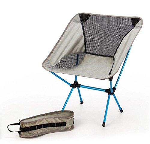 TTYY Chaise Pliante Extérieur Ultra-léger Lune Chaise Pique-Nique Camping pêche Plage, Blue