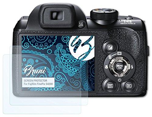 bruni-fujifilm-finepix-s4200-folie-2-x-glasklare-displayschutzfolie-schutzfolie-fur-fujifilm-finepix