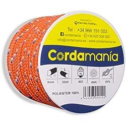 Cordamanía CMDE12CDGZ - Cuerda (8 mm) color naranja