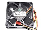 Cooler Master 7025 A7025-54BB-3AN-P1 12V 0.43A MGT7012ZB-O25 3Wire Cooling Fan