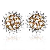 Kashvi Silver Stud Earrings for Women