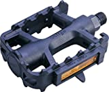 Best Bike Pedals - ETC Mountain Bike Resin Pedals - Black, 9/16 Review