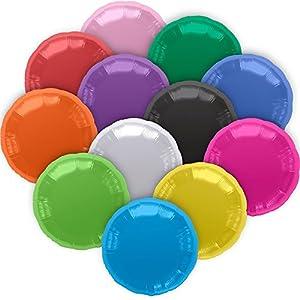 "North Star balón de papel de aluminio 18""""-45cm Redondo Rosa Pink confeccionada por separado, 5ns00735-01"