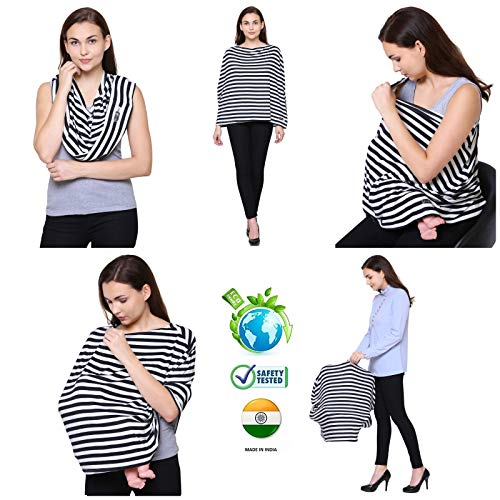 Feather Hug Cotton 360 Degree Nursing Cover for Breastfeeding
