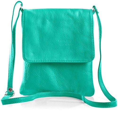 Big Handbag Shop - Borsa a tracolla donna Verde (verde)