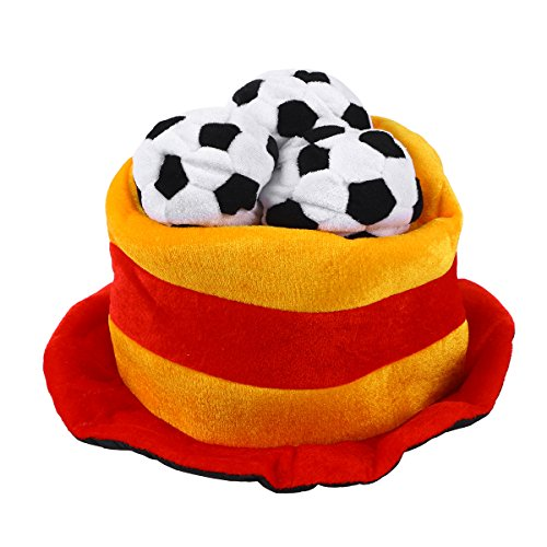 BESTOYARD National Land Flagge Fußball Party Hat Gap 2018World Cup Fußball Fan Mütze Cap, Baumwolle, Spanien, - Nationalen Land Kostüm