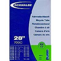 """SCHWALBE Fahrradschlauch AV17 mit Autoventil ~ 27""""/28"""" ~ 28/47-622/635 mm (28 x 1 1/4 - 1,75 Zoll)"""