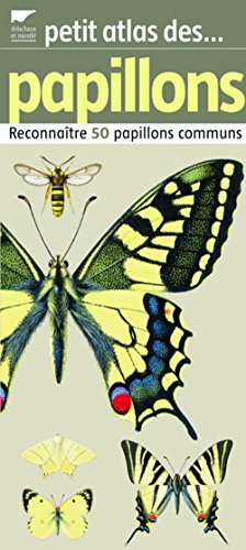 Petit atlas des papillons : Reconnatre 50 papillons communs