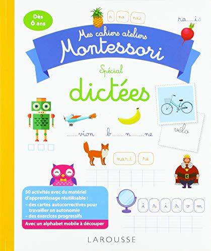 Telecharger Mon Cahier Atelier Montessori De Dictees